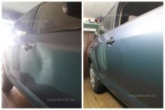 Toyota RAV4   Удаление вмятин  Неудачная парковка