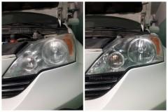 Honda CR-V    Полировка фар