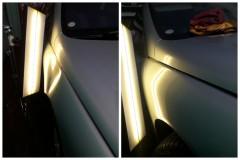 Renault Laguna   Удаление вмятин Упал ящик с полки