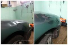 Mazda 626    Удаление вмятин Вандалы постарались...