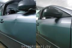 Mazda 6 Въехали на велике... Вмятины как не бывало!