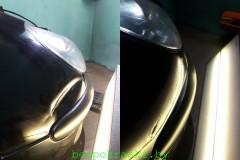 Peugeot 306 Растянут металл, глубокие царапины до металла. Под покраску.